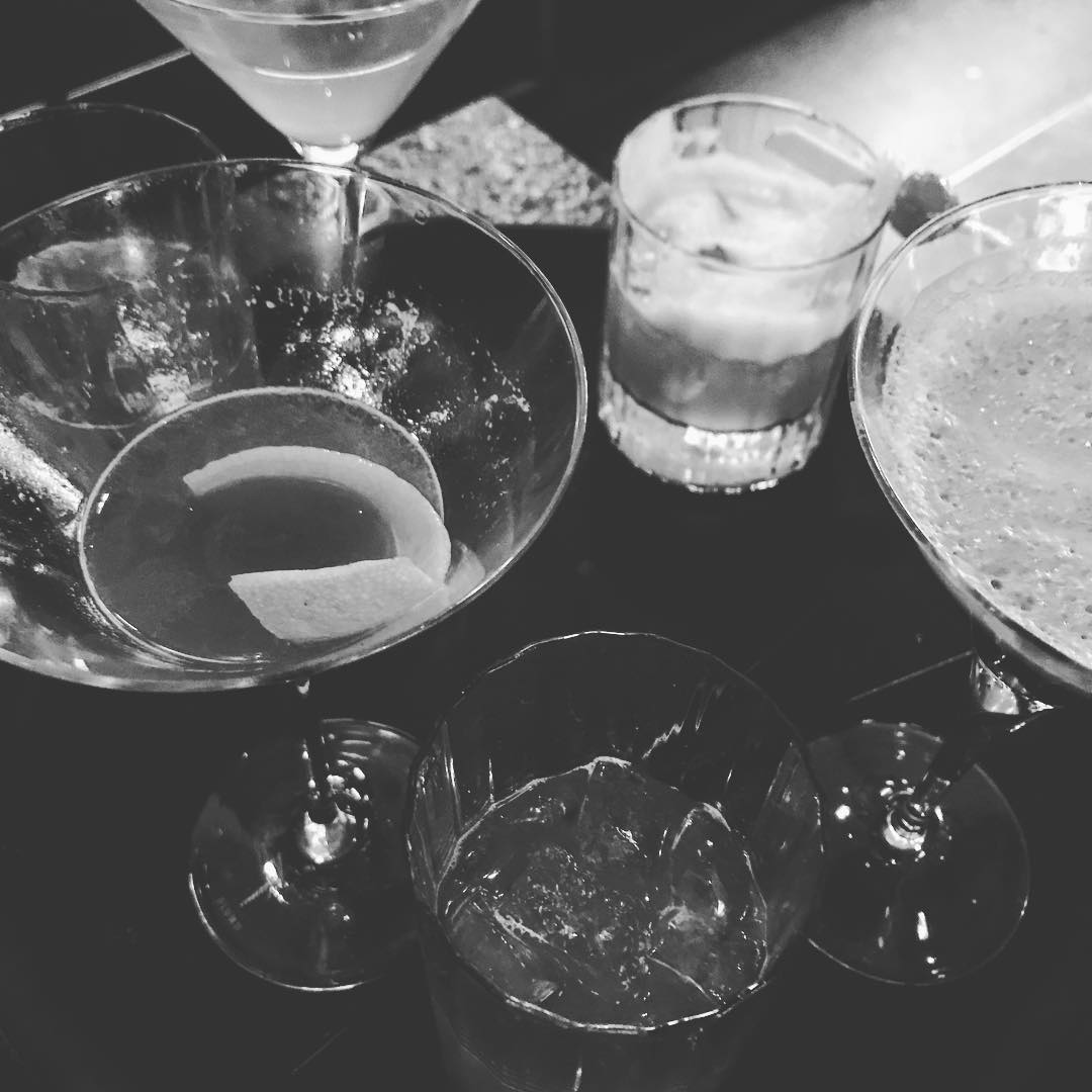 Cocktail sampling at gramercy somethingnew