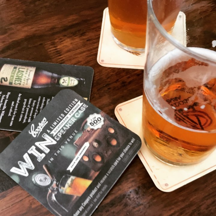 Competitions and beer and gramercy  win