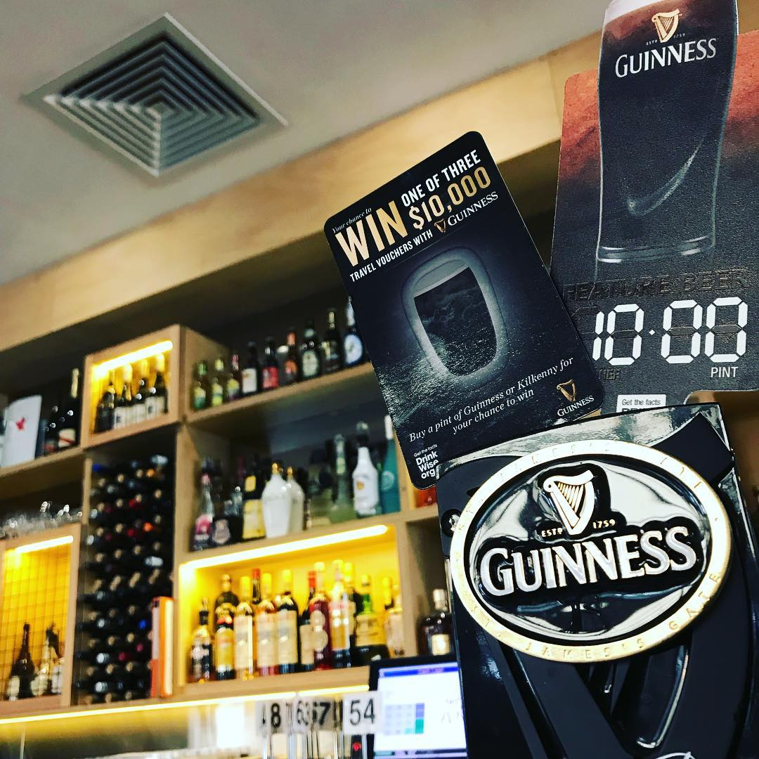 Last chance to win a 10k withguinness gramercy