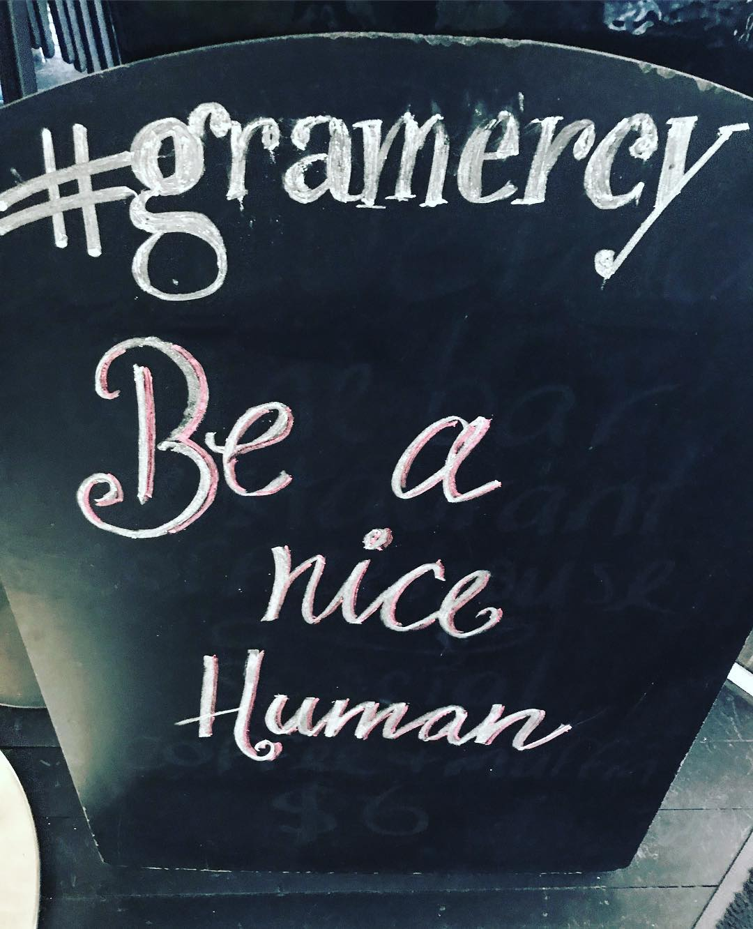 Simple message today gramercy