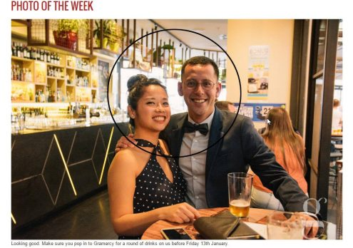 Gramercy Cocktail Bar Perth Picture of the Week image on website